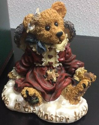 Boyds Bears Guinevere The Angel..Love is the Master Key #228308 1998