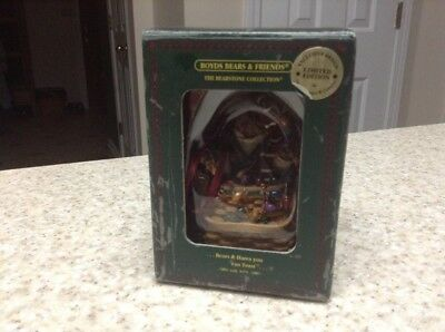Longaberger Boyds O.O. Tanglebeary Ornament New In Box