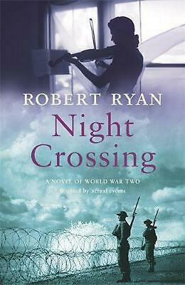 Night Crossing by Robert Ryan Paperback Book Free Shipping!