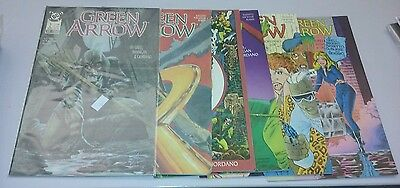 Green arrow 2-7 run set lot tv show collection dc comics movie rare lantern cool