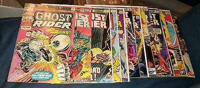 Ghost rider comics 14 33 37 38 43 44 49 52 60 61 62 68 72 75 79 bronze age movie