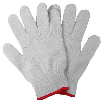 1 Pair Super Anti-slip Protective Cotton Knit Gloves, 900g Roving