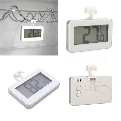 1212 Waterproof Refrigerator Fridge Thermometer Temperature Meter Tool White