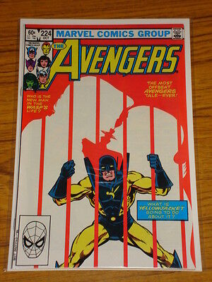 Avengers #224 Vol1 Marvel Comics October 1982
