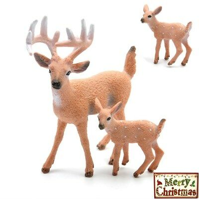 Christmas Reindeer Decor Doll Deer Home Party Shop Window Showcase Xmas Decor