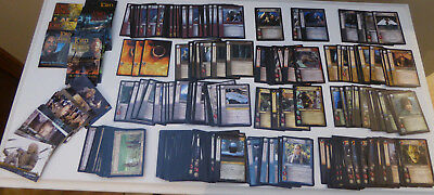 Lord of the Rings Trading Card Game 260 Cards and 37 TOPPS ROTK Cards