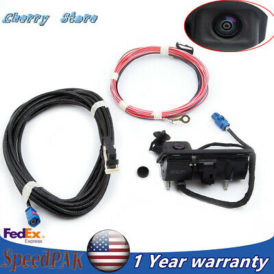 Rear View Backup Camera & Harness Kit Fit VW Golf Tiguan Passat RCD 510 RNS 510