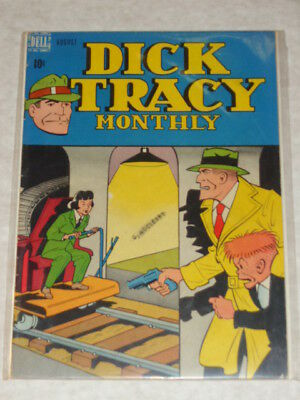 Dick Tracy Monthly #8 Vg/Fn (5.0) Dell Harvey Comics August 1948