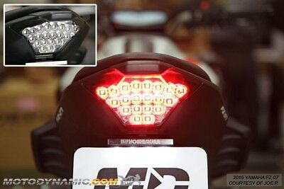 Yamaha FZ-07 FZ07 MT-07 MT07 2015 2016 2017 Integrated Sequential LED Tail Light