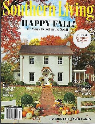 Southern Living  October   2018    Happy Fall