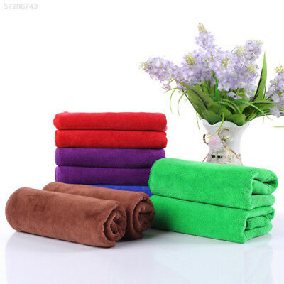 3DC5 Microfiber Water Absorbent Washing Towel Cloth Thickening Shower 30X70cm