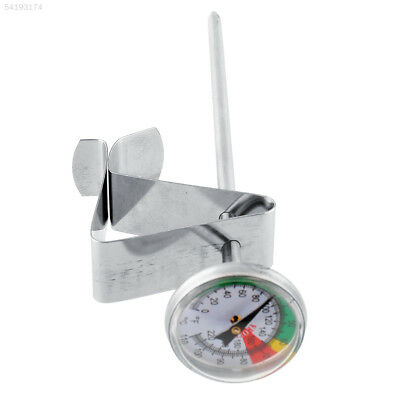 0BA3 Home Stainless Steel Milk Froth Thermometer Espresso Barista Pro Meter