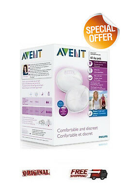 PHILIPS AVENT Daily Breast Pads 60 DAY PADS *comfortable discreet*