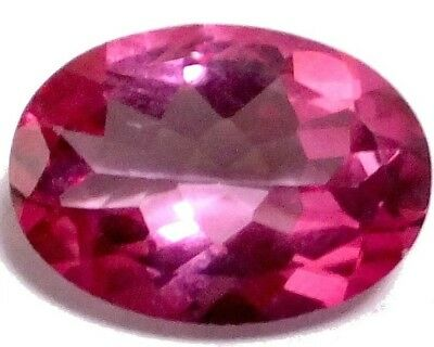 NATURAL OVAL-CUT RED PINK TOPAZ GEMSTONES LOOSE  14 x 10 mm. MARVELLOUS TOPAZ