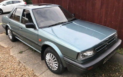 Nissan Bluebird 1.6 LX Vehicle 1990 Low Mileage 61,967 genuine miles only