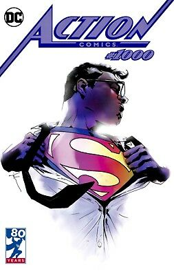 Action Comics #1000 Jock Limited Edition Exclusive Variant Dc 2018