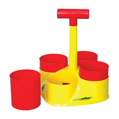 RVFM Class Caddy Table Top Organiser Red and Yellow