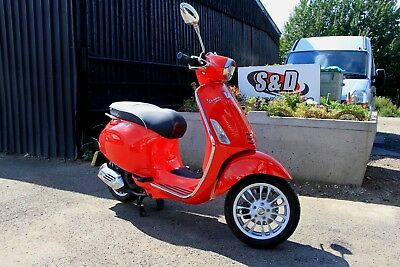 Piaggio Vespa Sprint 125 ABS 2014, Only 145 miles from new
