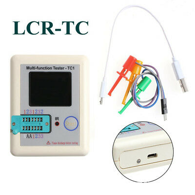 Pocketable LCR-TC1 Multifunction Transistor Tester Triode Diode Capacitor