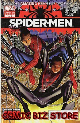 Spider-Men #1 (2012) 1St Printing Bagged & Boarded Marvel Comics