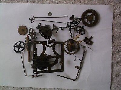 Cogs Etc  From An Old German Cuckoo Clock