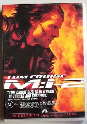 Mission Impossible 2 - M:i-2 (Tom Cruise) DVD **LIKE NEW** (Region 4)
