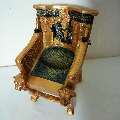 ANCIENT EGYPTIAN ANTIQUE TUTANKHAMUN THRONE Antique 1324-1312 BC