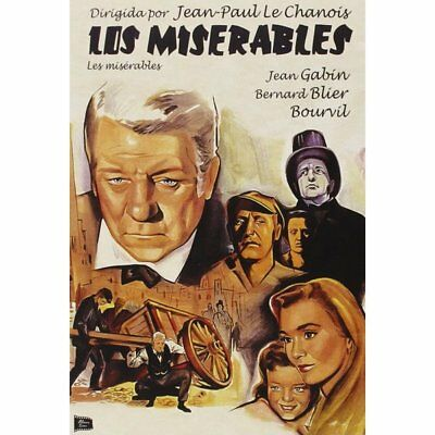 DVD - Les Miserables - Los Miserables - Jean-Paul Le Chanois - JEAN GABIN