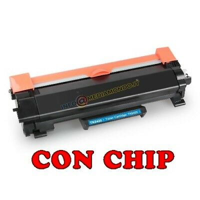 Toner Compatibile Con Brother Tn2420 Mfc-L2710 Dn Dw Mfc-L2730 Mfc-L2735 Chip
