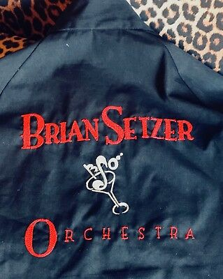 BSO-Crew/Tour-Jacket Brian Setzer Orchestra 1999 / Stray Cats Rockabilly Swing L