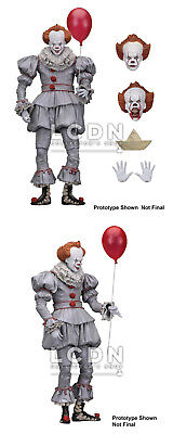 Stephen King's It Ça 2017 Action Figure Ultimate Pennywise 18cm NECA