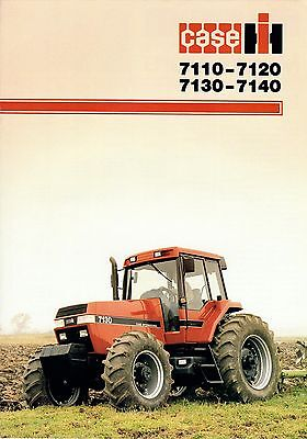 CASE Magnum 7100 Series Brochure. Immaculate Condition.