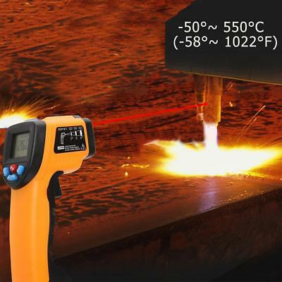 1x Handheld Non-contact Digital Infrared Thermometer LCD IR Laser emperature Gun