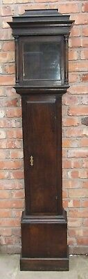 Lovely Antique Period Style Longcase Grandfather Clock Case for 11'' Dial