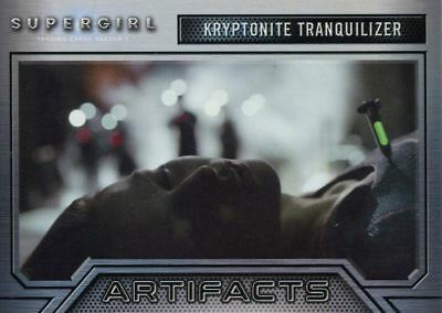 Supergirl Season 1 Artifacts Chase Card A7 Kryptonite Tranquilizer