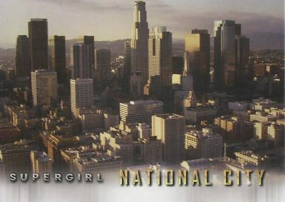 Supergirl Season 1 Locations Chase Card L3 National City