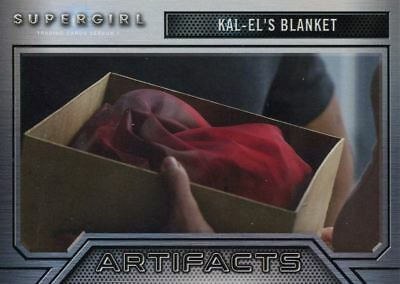 Supergirl Season 1 Artifacts Chase Card A3 Kal-El?s Blanket