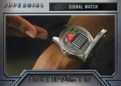 Supergirl Season 1 Artifacts Chase Card A8 Signal Watch