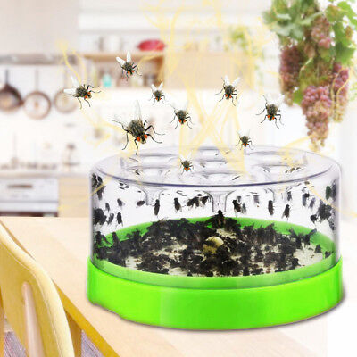 Automatic Electric Fly Trap Device With Trapping Food  Catcher AU