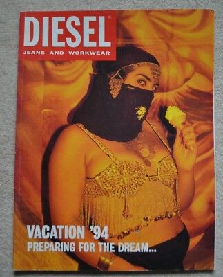 DIESEL Catalog Jeans and Workwear Vacation '94 Preparing for the Dream...