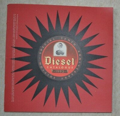 DIESEL Catalogue 1992 - Edition Special Tenth Anniversary