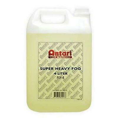 Antari FLY-4 Super Heavy Fog Fluid Yellow 4 Liter Bottle