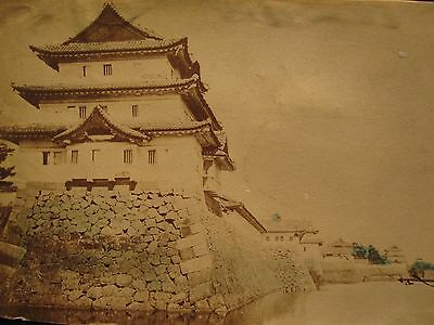 ANTIQUE 19th CENTURY CHINESE OR JAPANESE ARCHITECTURE BUILDING CHINA? OLD PHOTO