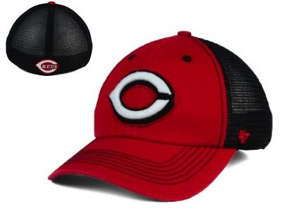 check out a7984 7b91b NWT MLB Cincinnati Reds 47 Brand Taylor Closer Mesh Flex L XL Hat Cap GD