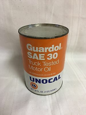 Vintage Unocal 76 Motor Oil SAE 30. 1 Qt - Multiples Available