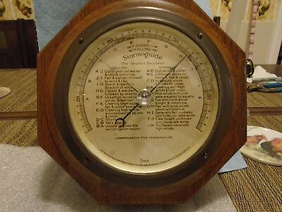 "Antique Stormoguide Barometer 5"" Dial Tycos Taylor Instrument Rochester NY"