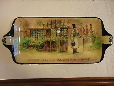 Royal Doulton Gaffers Series Ware Tray.Designed by Charles J. Noke. Fair cond.