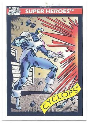 Impel Toy Biz 1990/1991 Marvel Universe Cyclops Promo Card