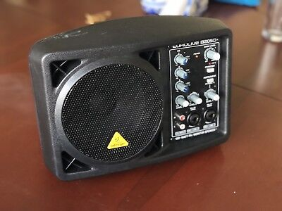 """Behringer Eurolive B205D Active 5"""" PA Speaker - Used But Working Perfectly"""