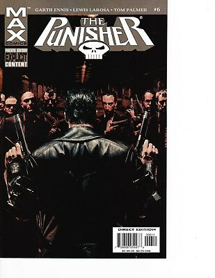 The Punisher #6 kills Micro 2004 series MAX Explicit FREE SHIPPING AVAILABLE!